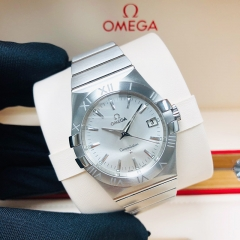 OMEGA Constellation 35mm Stainless Steel Silver Dial Quart  123.10.35.60.02.001