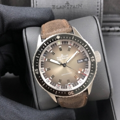 Blancpain Fifty Fathoms 43MM Stainless Steel Automatic 5052-1110-63A