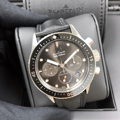 Blancpain Fifty Fathoms 43.6mm Ceramic Black Dial Automatic 5200-1110-B52A