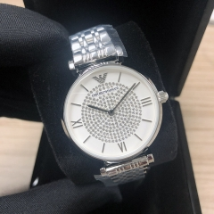 ARMANI Emporio 32MM Stainless Steel White Dial Quartz AR1925
