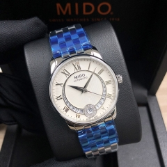 MIDO Baroncelli 33MM Stainless Steel Silver Dial Automatic M007.207.11.038.00