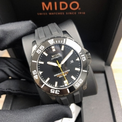 MIDO Ocean Star Diver 600 43.5MM Stainless Steel with DLC Coating Black Dial Automatic M026.608.37.051.00