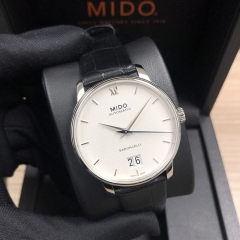MIDO Baroncelli Big Date 40MM Stainless Steel White Dial Automatic M027.426.16.018.00