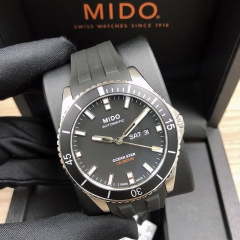 MIDO Ocean Star 42.5MM Stainless Steel Black Dial Automatic M026.430.17.051.00