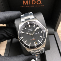 MIDO Ocean Star 42.5mm Stainless Steel Black Dial Automatic M026.430.11.051.00