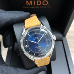MIDO Multifort 40MM Stainless Steel Blue Dial Automatic M040.407.16.040.00