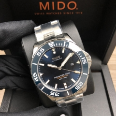MIDO Ocean Star Diver 600 43.5MM Stainless Steel Blue Dial Automatic M026.608.11.041.00