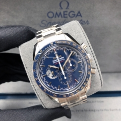 OMEGA Speedmaster Moonwatch Anniversary Limited Series 42MM Stainless Steel Blue Dial Manual-Winding 311.30.42.30.03.001