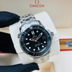 OMEGA Seamaster Diver 300M Stainless Steel 36MM Black Dial Automatic  212.30.36.20.01.001