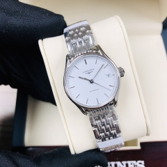 LONGINES Longines Lyre 25MM Stainless Steel White Dial Automatic L4.360.4.12.6