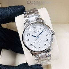 LONGINES The Master Collection 38MM Stainless Steel Silver Dial Automatic L2.628.4.78.6