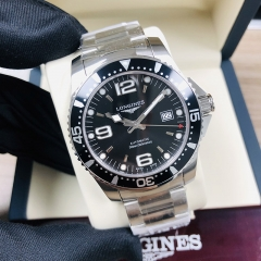 LONGINES Hydroconquest 41MM Stainless Steel Black Dial Automatic L3.742.4.56.6