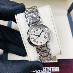 LONGINES Longines Primaluna 26,5MM Stainless Steel White Dial Automatic L8.111.4.71.6