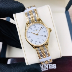 LONGINES Longines Lyre 25MM Stainless Steel With Yellow Gold PVD Costing White Dial Automatic L4.360.2.11.7