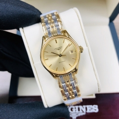 LONGINES Longines Lyre 25MM Stainless Steel With Yellow Gold PVD Costing Champagne Dial Automatic L4.360.2.32.7