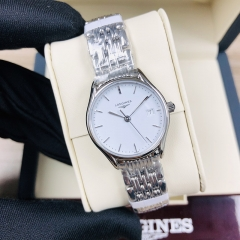 LONGINES  Longines Lyre 25MM Stainless Steel White Dial Quartz L4.259.4.12.6