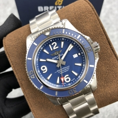 Breitling Superocean 44MM Stainless Steel Blue Dial Automatic A17367D81C1A1