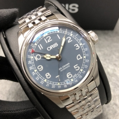 Oris Big Crown 40mm Stainless Steel Blue Dial Automatic 01 754 7741 4065-07