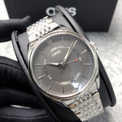 Oris Artelier 40mm Stainless Steel Grey Dial Automatic 01 755 7742 4053