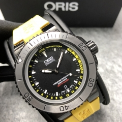 Oris Aquis 46mm Stainless Steel Black Dial Automatic 01 733 7675 4754