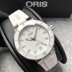 Oris Aquis 36.5mm Stainless Steel White Dial Automatic 01 733 7731 4151