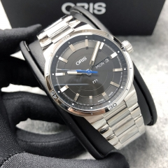 Oris TT1 45mm Stainless Steel Black Dial Automatic 01 735 7752 4154