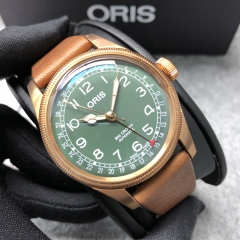 Oris Big Crown 40mm Bronze Green Dial Automatic 01 754 7741 3167