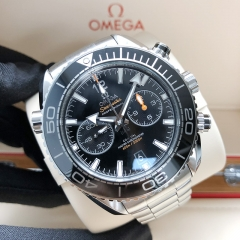 OMEGASeamaster Planet Ocean 600M Stainless Steel 46MM Black Dial Automatic 215.30.46.51.01.001