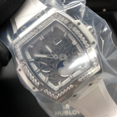 Hublot Spirit of Big Bang Moonphase Titanium 42MM Sapphire Dial Automatic 647.NE.2070.RW.1204