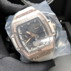 Hublot Spirit of Big Bang Moonphase Rose Gold 42MM Sapphire Dial Automatic 647.OE.2080.RW.1204
