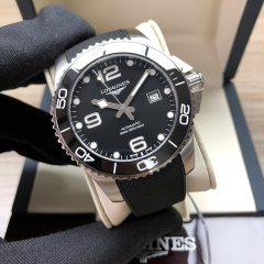 LONGINES Hydroconquest Stainless Steel 43MM Black Dial Automatic L3.782.4.56.9