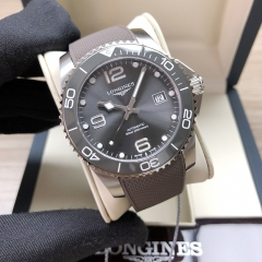 LONGINES Hydroconquest Stainless Steel 41MM Grey Dial Automatic L3.781.4.76.9